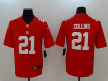 Mens Nfl New York Giants #21 Landon Collins Red Vapor Untouchable Limited Jersey