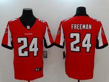 Mens New Nike Atlanta Falcons #24 Devonta Freeman Red Vapor Untouchable Limited Jersey