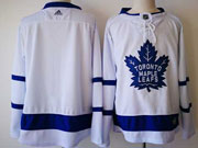 Mens Nhl Toronto Maple Leafs (custom Made) White Hockey Adidas Jersey