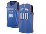 Mens Nba Oklahoma City Thunder Custom Made Blue Nike Jersey