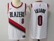 Mens Nba Portland Trail Blazers #0 Damian Lillard White Nike Jersey