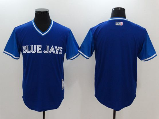 Mens Mlb Toronto Blue Jays Custom Made Blue 2017 Players Weekend Authentic Jersey