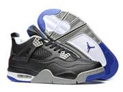 Mens Jordan 4 Basketball Shoes Black Colour