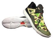 Mens Jordan 4 Camouflage Green Basketball Shoes Colour Green