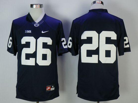 Mens Ncaa Washington State Cougars #26 Kay Bell (no Name) Blue Jersey