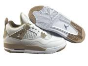 Mens Jordan 4 Basketball Shoes White Clour