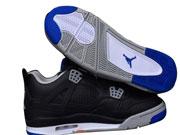 Mens Jordan 4 Basketball Shoes Black Clour
