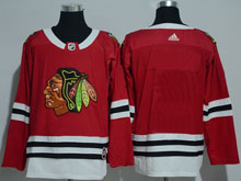 Mens Nhl Chicago Blackhawks Custom Made Red Adidas Jersey
