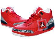 Mens Air Jordan 3 Basketball Shoes Red Clour