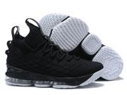 Mens  Nike Lebron 15 Running Shoes Black Clour