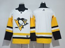 Mens Nhl Pittsburgh Penguins Blank White Adidas Jersey
