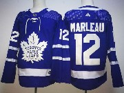 Mens Nhl Toronto Maple Leafs #12 Patrick Marleau Blue Home Hockey Adidas Jersey