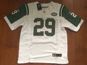 Mens New York Jets #29 Bilal Powell White Elite Jersey