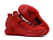 Mens Women Air Jordan 32 Basketball Shoes Red Clour