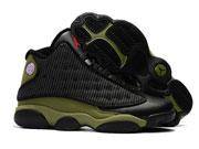 Mens Women Air Jordan 13 Basketball Shoes Black And Green Clour