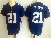 Mens Nfl New York Giants #21 Landon Collins Blue Vapor Untouchable Elite Jersey