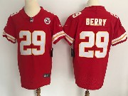 Mens Nfl Kansas City Chiefs #29 Berry Red Vapor Untouchable Elite Jersey