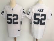 Mens Nfl Oakland Raiders #52 Khalil Mack White Vapor Untouchable Elite Jersey