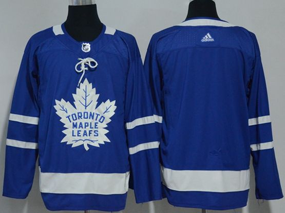 Mens Nhl Toronto Maple Leafs (custom Made) Blue Hockey Adidas Jersey