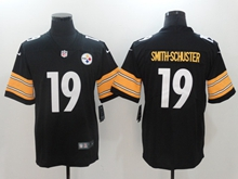 Mens Nfl Pittsburgh Steelers #19 Smith-schuster Black Vapor Untouchable Limited Jersey