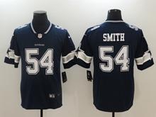 Mens Dallas Cowboys #54 Jaylon Smith Blue Vapor Untouchable Limited Jersey