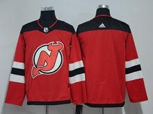 Mens Nhl New Jersey Devils Custom Made Red Adidas Jersey
