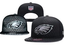 Nfl Philadelphia Eagles Black Snapback Hats