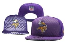 Mens Minnesota Vikings Purple Snapback Hats