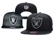 Mens Nfl Oakland Raiders Black Snapback Hats