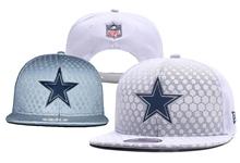 Mens Nfl Dallas Cowboys White Snapback Hats