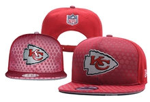 Mens Nfl Kansas City Chiefs Red Snapback Hats