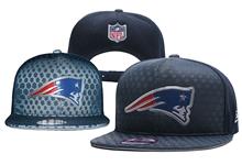 Mens New England Patriots Blue Snapback Hats