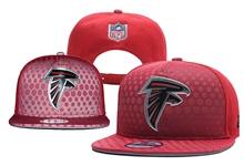 Mens Nfl Atlanta Falcons Red Snapback Hats