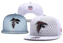 Mens Nfl Atlanta Falcons White Snapback Hats