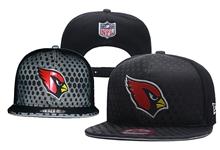 Mens Nfl Arizona Cardinals Black Snapback Hats