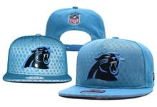 Mens Nfl Carolina Panthers Blue Snapback Hats