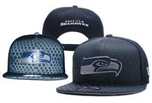 Mens Nfl Seattle Seahawks Blue Snapback Hats