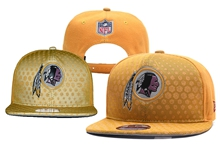 Mens Nfl Washington Redskins Gold Snapback Hats