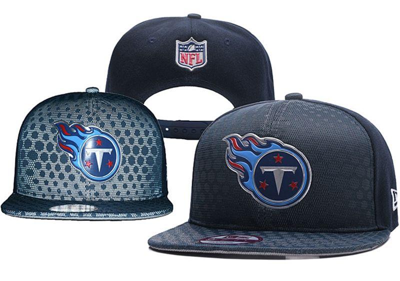 Mens Nfl Tennessee Titans Blue Snapback Hats