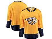 Mens Nhl Nashville Predators Blank Yellow Adidas Jersey