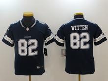 Youth Dallas Cowboys #82 Jason Witten Blue Vapor Untouchable Jersey
