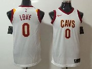 Mens Nba Cleveland Cavaliers #0 Kevin Love White Nike Jersey