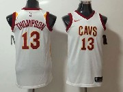 Mens Nba Cleveland Cavaliers #13 Tristan Thompson White Nike Jersey