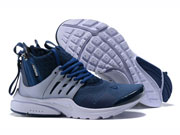 Men Acronym X Nike Lab Air Presto Mid Running Shoes Blue Colour