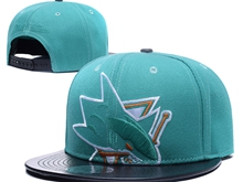Mens Nhl San Jose Sharks Green Caps