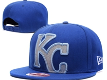 Mens Mlb Kansas City Royals Blue Caps Blue Brim