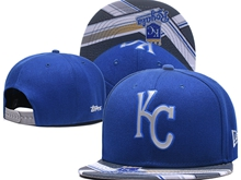 Mens Mlb Kansas City Royals Blue Caps Gray Brim