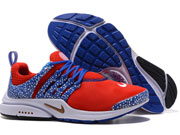 "Men Nike Air Presto ""gold Safari"" Running Shoes Red Colour"
