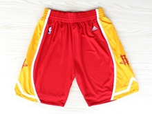 Mens Nba Houston Rockets Red Mitchell&ness Shorts