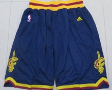 Mens Nba Cleveland Cavaliers Blue New Shorts